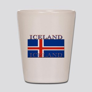 Iceland Shot Glass