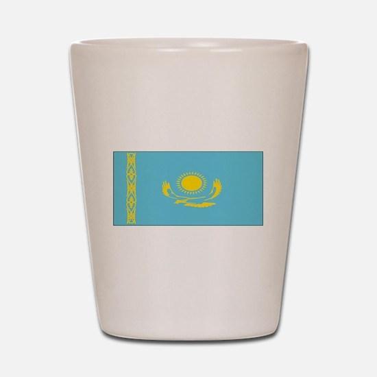 Borat Country Kazakhstan Flag Shot Glass