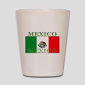 Mexico Mexican Flag Shot Glass