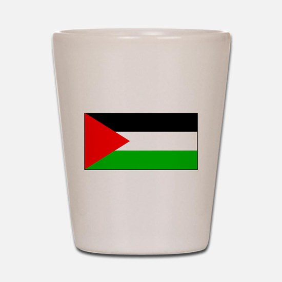 Palestinian Blank Flag Shot Glass