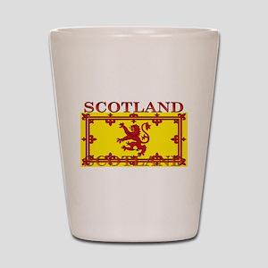 Scotland Scottish Flag Shot Glass
