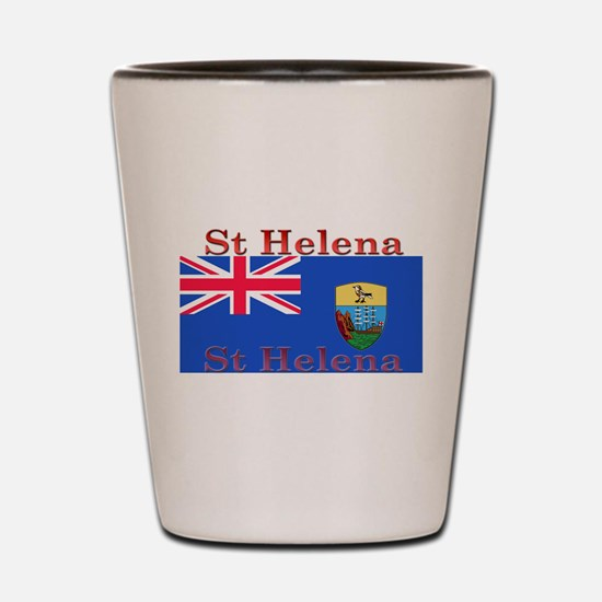 St Helena Shot Glass