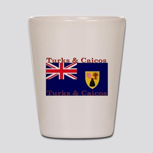 Turks & Caicos Shot Glass