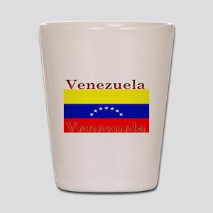 Venezuela Venezuelan Flag Shot Glass