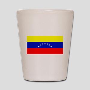 Venezuela Venezuelan Blank Fl Shot Glass