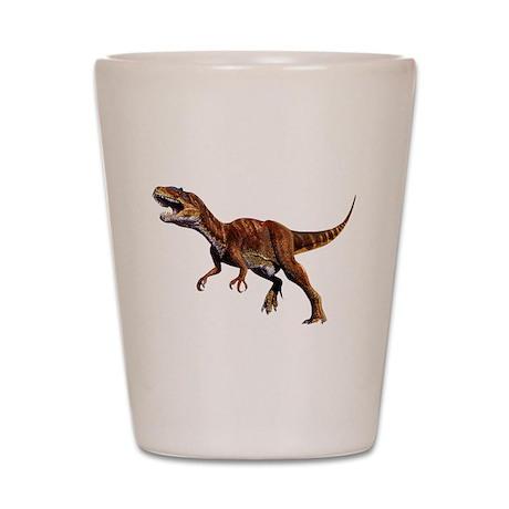 Allosaurus Jurassic Dinosaur Shot Glass