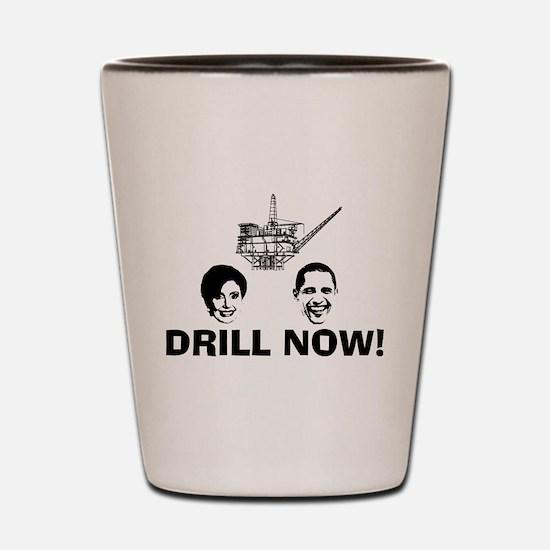 Drill Now Republican Oil Shot Glass