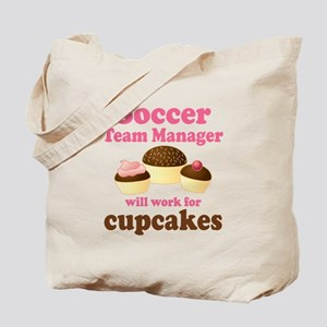 Funny Soccer Team Manager Tote Bag
