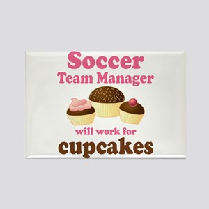 Funny Soccer Team Manager Rectangle Magnet
