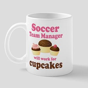 Funny Soccer Team Manager Mug