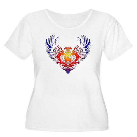 Cocker Spaniel Women's Plus Size Scoop Neck T-Shir