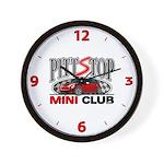 PittStop MINI Wall Clock