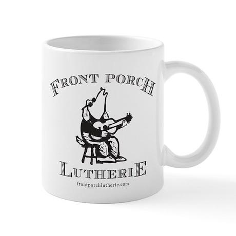 frontporchlutherie sticker Mugs