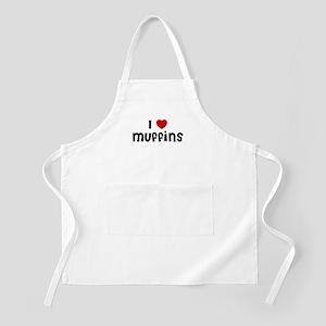 I * Muffins BBQ Apron