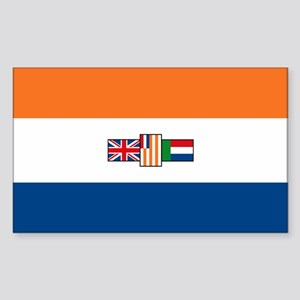 South Africa Flag Rectangle Sticker