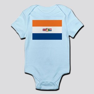 South Africa Flag Infant Creeper