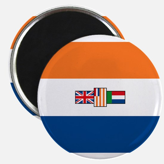 "South Africa Flag 2.25"" Magnet (10 pack)"