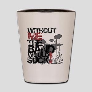 Drummer -- Shot Glass