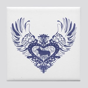 Corgi Tile Coaster