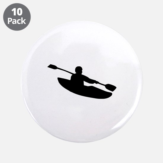 "Kayak 3.5"" Button (10 pack)"