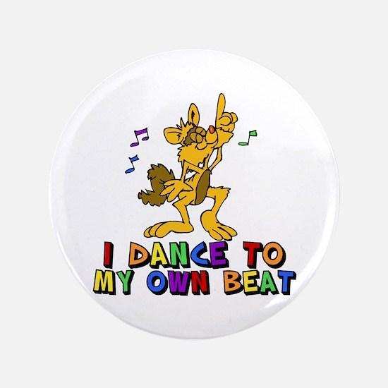 "Dancing Cat 3.5"" Button"