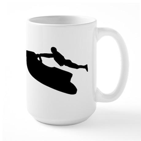 Jet ski Large Mug