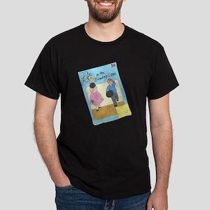 Retro Bowling Black T-Shirt