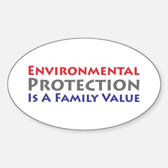 Environmental Protection Oval Decal