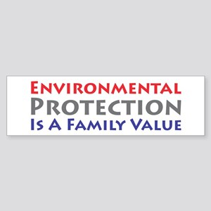 Environmental Protection Bumper Sticker