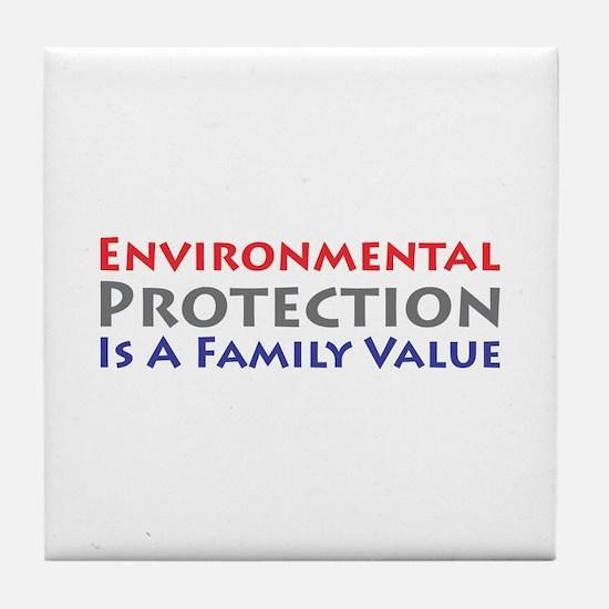 Environmental Protection Tile Coaster