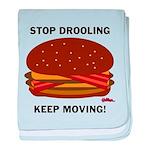 Stop Drooling - baby blanket