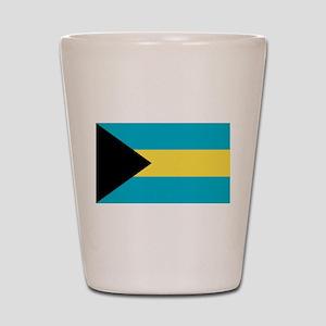 Bahamian Flag Shot Glass