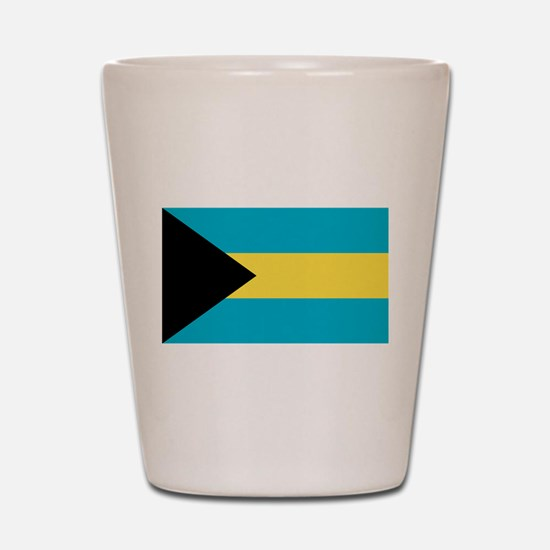 Bahamian Flag Shot Glass
