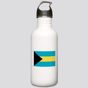 Bahamian Flag Stainless Water Bottle 1.0L
