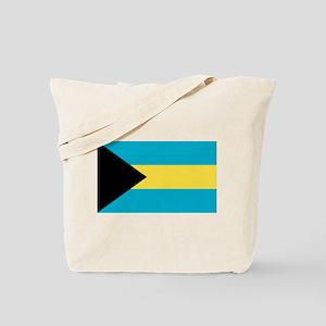 Bahamian Flag Tote Bag