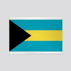 Bahamian Flag Rectangle Magnet