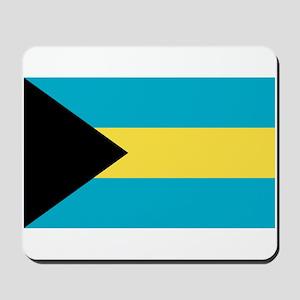 Bahamian Flag Mousepad