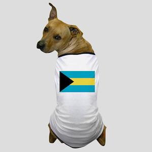 Bahamian Flag Dog T-Shirt