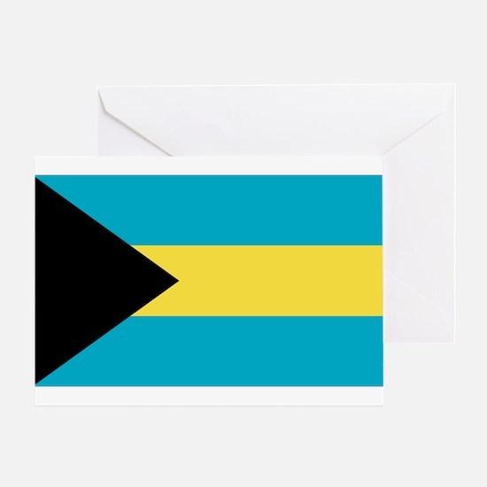 Bahamian Flag Greeting Card