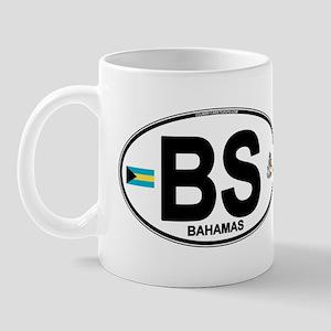 Bahamas Euro Oval Mug