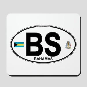 Bahamas Euro Oval Mousepad