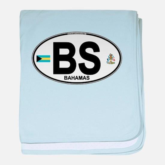 Bahamas Euro Oval baby blanket