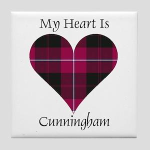 Heart - Cunningham Tile Coaster