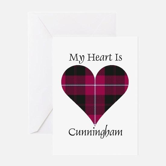 Heart - Cunningham Greeting Card