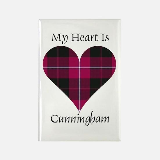Heart - Cunningham Rectangle Magnet