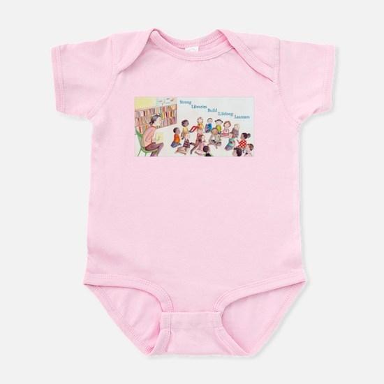 Library Storytime Infant Bodysuit