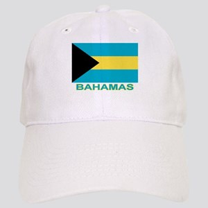 Bahamian Flag (labeled) Cap
