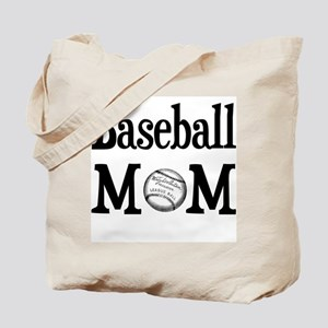 """""""Baseball Mom"""" Tote Bag"""