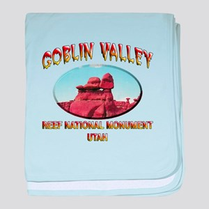 Goblin Valley Utah baby blanket
