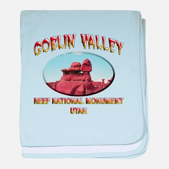Goblin Valley Utah baby blanket